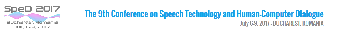 The 9th International Conference on Speech Technology and Human-Computer Dialogue